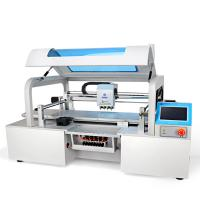 Buy cheap Charmhigh 4 Heads CHMT510LP4 LED Pick and place Machine, 1.2m LED strip, 8 feeders from wholesalers