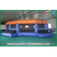Buy cheap 12m Giant Outdoor / Indoor Inflatable Football field Customized from wholesalers