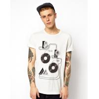Buy cheap custom white biker t shirts for boys with roll sleeves t shirt design from wholesalers