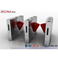 Buy cheap Face Scan Pedestrian Barrier Gate Swing Turnstile Automatic Door Entrance Solution In Mansion product
