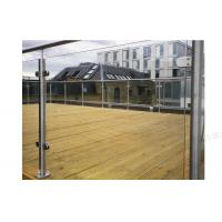 Buy cheap Terrace Glass Balustrade Stainless Steel Handrail from wholesalers