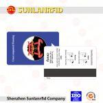 Buy cheap Custom CMYK Printing MF1K FM1108 Access Control RFID Hotel Key Card from wholesalers