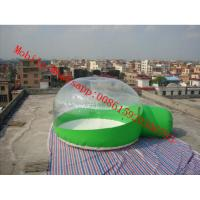 Buy cheap inflatable clear bubble tent , clear plastic tent, transparent tent , transparent camping from wholesalers