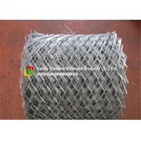 Buy cheap Lightweight Flattened Expanded Metal Mesh Low Carbon Steel Hot Dipped Galvanized product