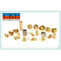 Buy cheap Brass Precision Turning Parts , CNC Turning Lathe Machining For Machinery from wholesalers