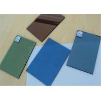 Buy cheap Tinted Bronze Float Glass , Black Tinted Glass For Show Window Decoration product