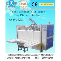 Buy cheap High Efficiency Semi Automatic Corrugated Stitching Machine For Carton Box from wholesalers