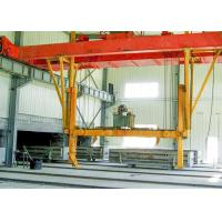 Buy cheap Sand Lime AAC Block Cutting Machine , AAC Block Tilting Hoister Machinery product