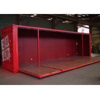 Buy cheap 40HQ ISO Metal Shipping Containers With Foldable Wall Panels from wholesalers