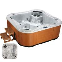 Buy cheap High Quality 5 Person Outdoor Whirlpool Bathtub from wholesalers