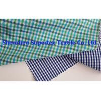 Buy cheap Men'S Clothing Fabric Cotton Poplin Y/D Checks  85~115GSM 147CM from wholesalers
