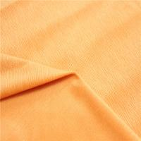 Buy cheap Anti - Static Soft Fleece Fabric Polyester Heavy And Long Pile Stretch Velour Fabric from wholesalers