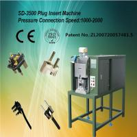 Buy cheap Precision Plug Insertion Machine Full Auto For 16A European Plug Insert from wholesalers