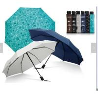Waterproof Lightweight Folding Self Opening UmbrellaRubber Coating Handle Many Colors