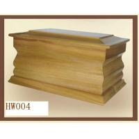 Buy cheap Wooden human urns, cremation urns box, varnished finish from wholesalers