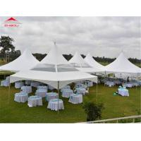 Buy cheap Small Outside Movable Flame Retardant Pagoda Party Tent Easy To Clean from wholesalers