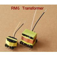 Buy cheap Flyback Wire Copper Foil Small Voltage Transformer , RM12 Small HV Transformer from wholesalers