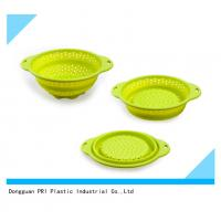 Buy cheap food grade durable Silicone Rubber Products folding basin for household from wholesalers