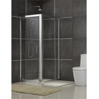 Buy cheap Brushed Rectangular Shower Enclosure 6MM Tempered Glass for Philippines from wholesalers