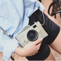 Buy cheap 2016 summer new tide personality camera bag packet female European and American fashion chain shoulder bag Messenger bag from wholesalers