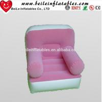 Buy cheap Hot sales Promotion inflatable Flocked single chair sofa seat from wholesalers