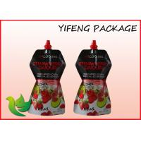 Buy cheap Food Grade Spout Pouch Customized Shaped For 500ml Wine Packaging from wholesalers