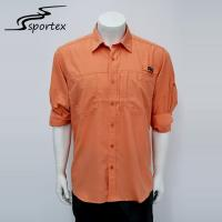 Buy cheap Long Sleeve Breathable Custom Outdoor Shirts With Protection Anti UV50+ from wholesalers