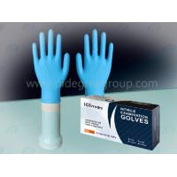 Buy cheap Disposable nitrile examination glove, powder free, non-sterile from wholesalers