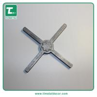 Buy cheap Manufacture cast aluminum fence ornament aluminum railing flower from wholesalers