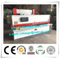 Buy cheap 10x3200 NC Hydraulic Shearing Machine Swing Type Electric Controller System from wholesalers