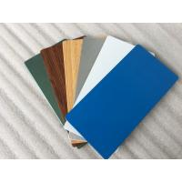 Buy cheap Glossy Blue ACP Aluminium Composite Panel 2000mm Width With 0.30mm Alu Thickness product