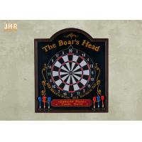 Buy cheap Pub Dart Board Wooden Wall Plaques Decorative Dart Board from wholesalers