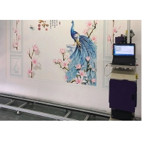 Buy cheap Custom Size Shervin CE 2880DPI 3D Wall Inkjet Printer from wholesalers
