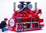 Buy cheap DeMaas Brand Fire Pump Diesel Engine For Firefighting , Pumping Set Diesel Engine from wholesalers