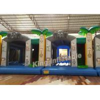 Buy cheap Printing Tree 0.55mm PVC Tarpaulin Small Bouncy Castles Inflatable For Indoor from Wholesalers