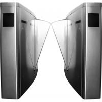 Buy cheap Subway Station IP54 RS485 SUS304 Bridge Oval Smart automatic Intelligence Flap gate barrier from wholesalers
