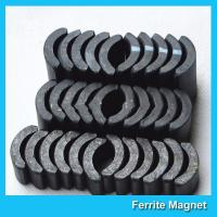 Buy cheap Powerful Ceramic Ferrite Arc Magnet Sintered Permanent Magnets Customized product