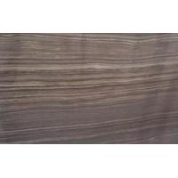 Buy cheap Hottest Dark Colour Wood Marble, Popular Polished Obama Wooden Marble New Product On selling from wholesalers
