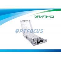 Buy cheap Waterproof FTTH Mini Optical Fiber Termination Box 12 Outlet Pigtail from wholesalers
