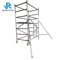 Buy cheap Flexible Aluminium Mobile Scaffold Work Platform Ringlock With Complete Accessories from wholesalers