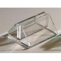Buy cheap Triangle Shape Base Acrylic Holder Display Stand For Menu Card product