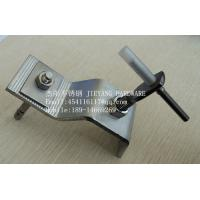 Buy cheap L anchor,marble bracket,stainless steel angle and plate,stone fixings,stone cladding from wholesalers