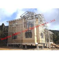 Buy cheap Aluminum Zinc Alloy Structure Light Weight Steel Villa With Corrosion Resistance from wholesalers
