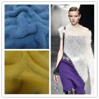 Buy cheap Fancy richness hair soft fluffy nylon mink hairy like for  hand crochet flact machine knitting yarn from wholesalers