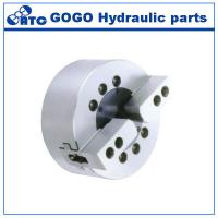 Quality Solid Dynamic Hydraulic Lathe Chuck / 2 Jaw Chuck For Surface Grinding Machine for sale