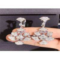 Buy cheap Bulgari DIVAS' DREAM 18kt White Gold Earrings with Pave Diamonds product