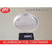 Buy cheap HVPC Round Foil Roasting Trays Disposable , Aluminum Turkey Pan 700ml Volume from wholesalers