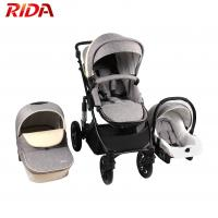 China luxury infant pram foldable 2 in 1 baby stroller baby pram with car seat on sale