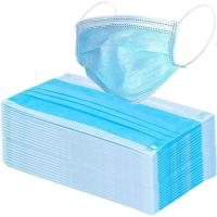 Buy cheap Blue Non Woven Medical Mask , Disposable Dust Mask Without Glass Fibers from wholesalers