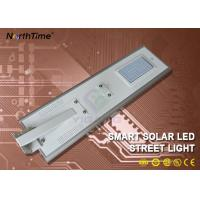 Buy cheap Automatic On/Off Integrated Solar Powered LED Street Lights Can Work 5-7 Days from wholesalers